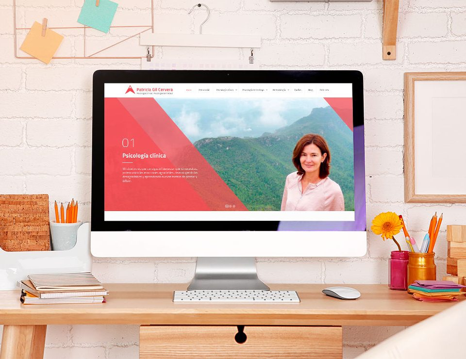 Página Web de Patricia Gil Cervera